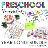 Preschool Vocabulary Bundle | Special Education and Autism Resources