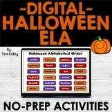 Halloween ELA Activities | DIGITAL | Distance Learning
