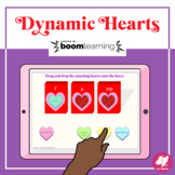 Music Distance Learning: Valentine's Day Dynamics - BOOM CARDS
