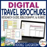 Travel Brochure Template | Google Classroom | Digital