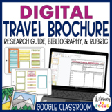 Travel Brochure Template | Google Classroom | Distance Learning