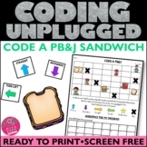 Coding Unplugged Activity PB&J  HOUR OF CODE