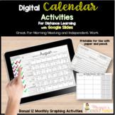 Digital Calendar Journal Activities | Distance Learning