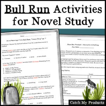 Bull Run Novel Activities