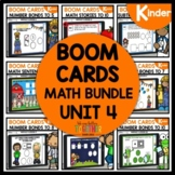 BOOM CARDS Distance Learning |Unit 4 BUNDLE | KINDERGARTEN