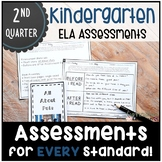 Kindergarten ELA Assessments for SECOND QUARTER