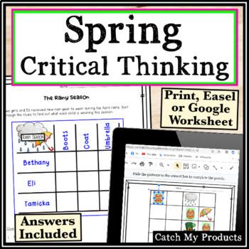 Spring Activity Worksheets
