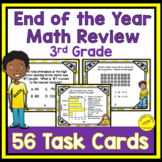 End of the Year 3rd Grade Math Review Task Cards: 3rd Grade Math Review