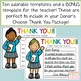 Thank You Templates for Donors Choose Projects or Other Donations