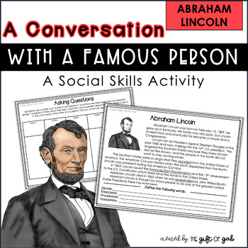 Abraham Lincoln Conversation Skills Speech Therapy