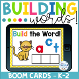 Boom Cards Distance Learning! Building CVC Words Short A!