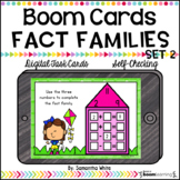 Boom Cards - Fact Families Set 2