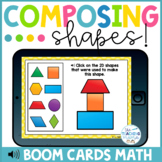 Composing 2D Shapes Distance Learning | Boom Cards™