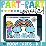 Part-Part Whole Digital Task Cards for  Distance Learning | Boom Cards™
