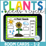 Plant Lifecycle & Plant Needs! | Boom Cards™
