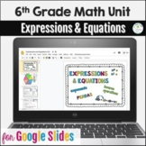 Distance Learning 6th Grade Expressions & Equations Unit i