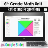 Distance Learning 6th Grade Ratios and Proportions Unit Go