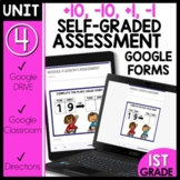 Math Self-Grading Assessments |Distance Learning | +10, -10, +1