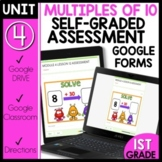 Distance Learning| Math Self-Grading Assessments |ADDING 10 |20