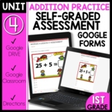 Math Self-Grading Assessments |Distance Learning | Double Digit