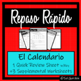 El Calendario- Days and Date in Spanish - Repaso Rápido