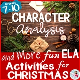 Christmas Character Analysis, Symbolism, Writing and More