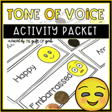 Tone of Voice Pragmatic Language Activities