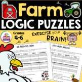 Farm Theme Logic Puzzles