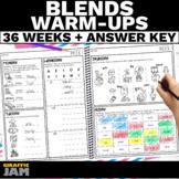 Blend Warm-Ups   Daily Phonics Practice   Short Vowel Blen