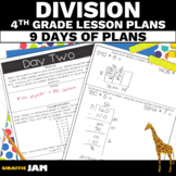 4th Grade Division Math Lesson Plans Guided Release of Responsibility
