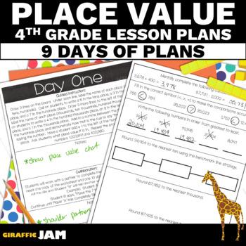 4th Grade Math Place Value Lesson Plans