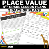 4th Grade Math Place Value Lesson Plans