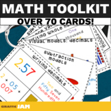 Printable Upper Elementary Math Toolkit - Great for Grades 3-5