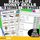 Real Life Money Skills   Dollar Up Worksheets   Special Ed