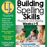 4th Grade Spelling and Vocabulary Program - Weeks 1-9