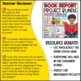 Book Report Projects and Templates Bundle