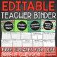 Colorful Chalkboard Classroom Decor & Teacher Planner Bundle