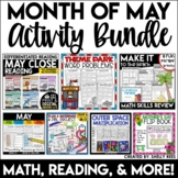 May Activities Bundle for 3rd, 4th, and 5th Grades