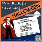 Mini Book for Language:  Halloween