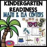 Summer Kindergarten Readiness Math and Reading Centers