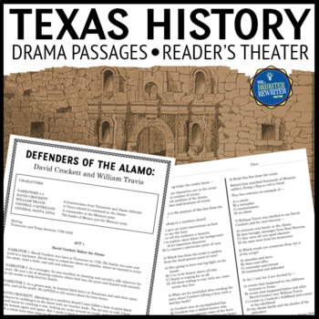 Texas History Readers Theater Drama Passages