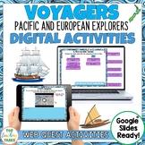 New Zealand Explorers Digital WebQuest Activity for Google Slides | Tuia 250
