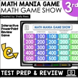 3rd Grade Math Review Game Test Prep | Interactive PowerPoint Game