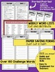 3rd Grade Spelling Lists and Vocabulary Program Weeks 19-27