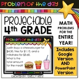 4th Grade Math Problem of the Day | Google Version Included!
