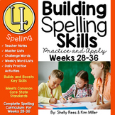 4th Grade Spelling and Vocabulary Program - Weeks 28-36