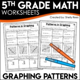 5th Grade Math Homework Graphing Patterns Worksheets