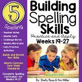 5th Grade Spelling and Vocabulary Program - Weeks 19-27