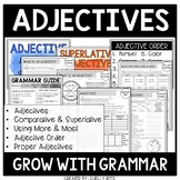 Adjectives Worksheets | Comparative and Superlative Adjectives | Adjective Order