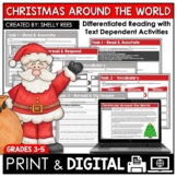 Christmas Around the World Reading Passage and Worksheets